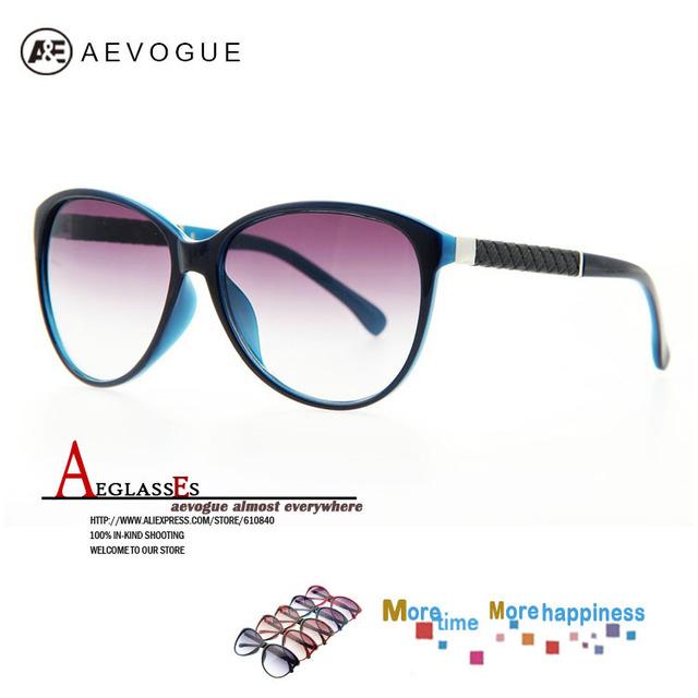 Aevouge марка кошачий глаз марка солнцезащитных очков женщины солнцезащитные очки искусственная кожа украшение 20 шт. / lot AE0149