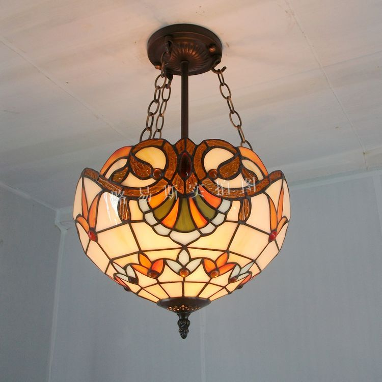 Buy 30cm fashion antique pendant light tiffany balcony child - Fabriquer un plafonnier ...