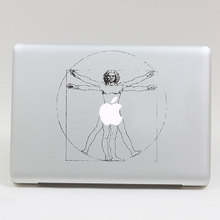 Removable DIY Avery beautiful classic Vitruvian Man tablet and laptop computer sticker for macbook Pro 13,Air 13,205*270mm