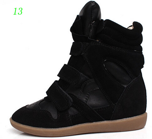 2016 New Design colors Shoes Women Wedges Shoes Height Increasing Shoes Women s Casual Shoes Heels