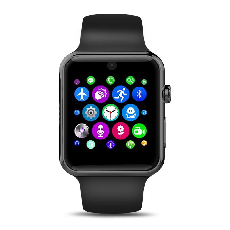 Фотография Bluetooth Smart Watch Clock Sync Notifier With Sim Card Sport Smart Health Smartwatch For iPhone Android Phone VS Lemfo LF07