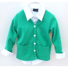 Fashion Clothing Wear Children Shirts Boy And Girl Cardigan Kids Sweaters Long Sleeve Tops Shirts 7colors AL012