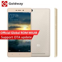 "Originale Xiaomi Redmi 3 Snapdragon 616 Octa Core Mobile Phone 2 GB di RAM 16 GB ROM 5.0 ""1280x720 Corpo In Metallo 4100 mAh Batteria MIUI 8(Hong Kong)"
