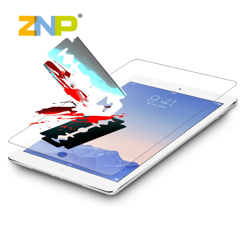 Premium Real Tempered Glass Film for iPad 2 3 4 Protective Film For iPad Mini 1 2 3 Air 1 2 Screen Protector protective(China (Mainland))
