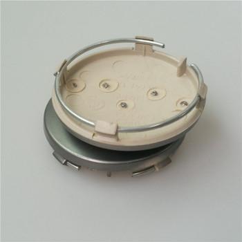 Newest 4pcs/lot 60mm grey Wheel Center Cap Wheel Hub Caps Rims Cover car Badge Emblem Case For A3 A4 A6 A8 TT,4B0601170 Styling