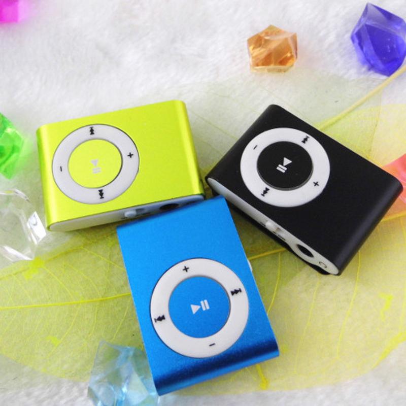 New high quality Mini Metal Clip MP3 Player Sport Fashion Music Player Earphone 8 GB Micro
