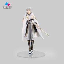 Kissen Anime Touken Ranbu Online Tsurumaru Kuninaga PVC Action Figure Collectible Model Toy 22.5cm