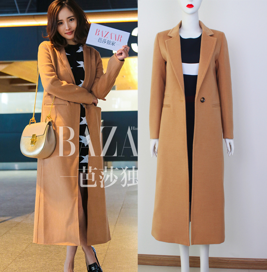 Online Buy Wholesale womens cashmere camel overcoat from China