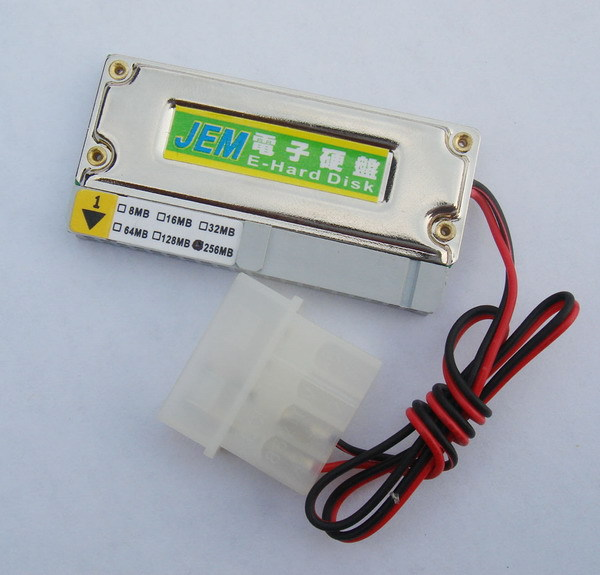 New Original Jem 256MB 40-pin IDE Flash Module DOM Electronic 256M IDE DOM 40Pin 40P Support Industrial IPC soft route ros(China (Mainland))