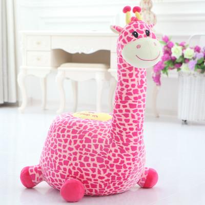 cartoon giraffe large 70x50cm plush toy seat, giraffe doll soft floor seat , birthday gift x055(China (Mainland))