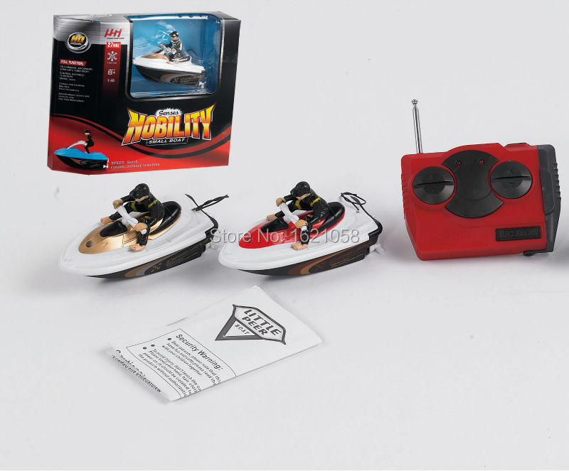 Hot Sale New Arrival Mini Cute RC Speed Boat Blue Gold Grey Red Radio RC Remote Control Boat Super Mini Speed Boat Gift RC Ship(China (Mainland))