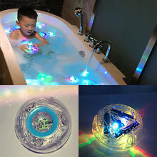 bath light led light toy Party in the Tub Toy Bath Water LED Light Kids Waterproof children funny time (China (Mainland))