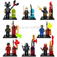 XINH Minifigures XINH 043-050 80pcs/lot Figures Building Blocks Sets Model Bricks Toys For Children