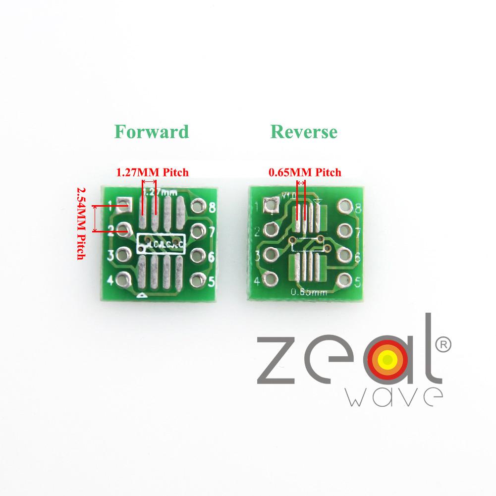 Pin Header OJ I2 New 10pcs SOP8 SO8 SOIC8 TSSOP8 TO DIP8 adapter to DIP