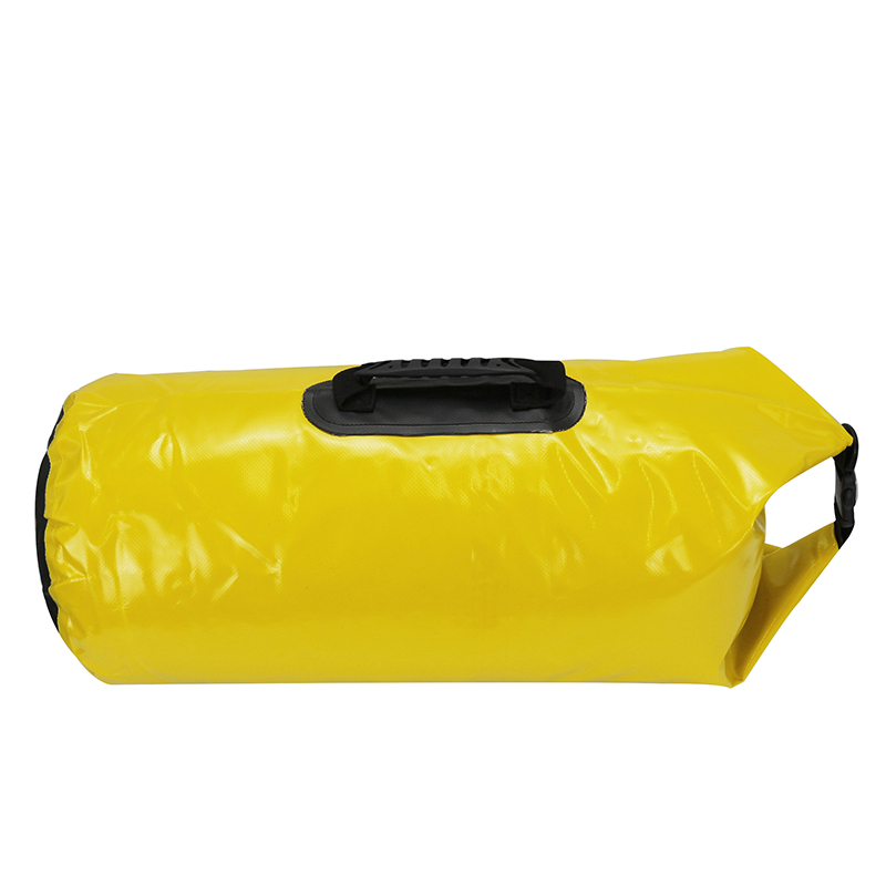 40L Muitifunctional durable ultralight Camping Hiking rafting swimming waterproof bag travel bag outdoor dry yellow bag KQ0032(China (Mainland))