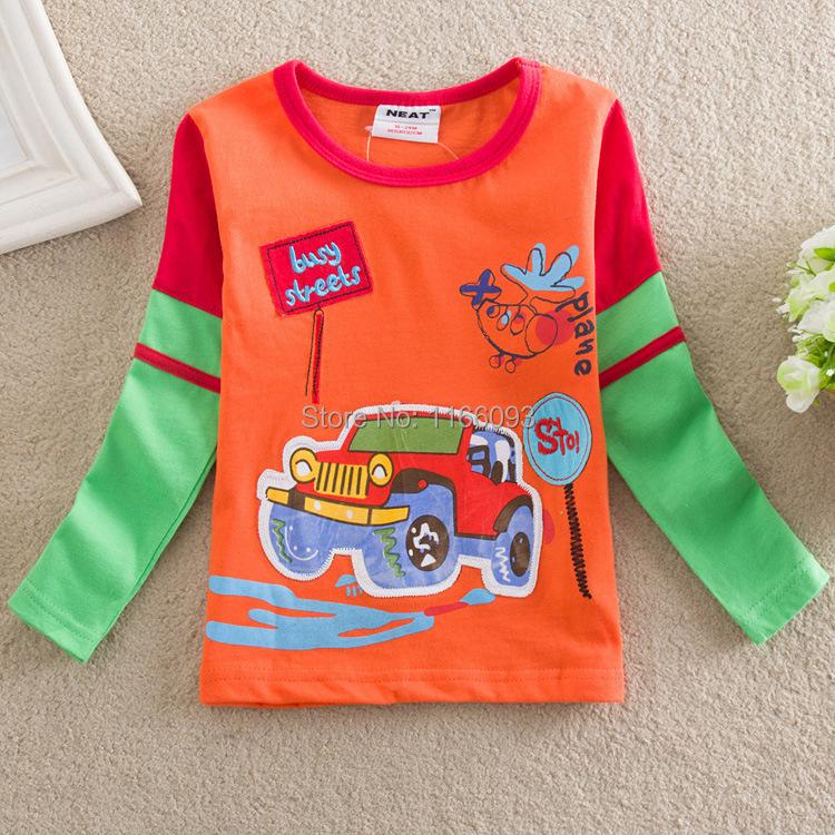 L885 New Baby Boys Children Spring 2015 T Shirts Clothing