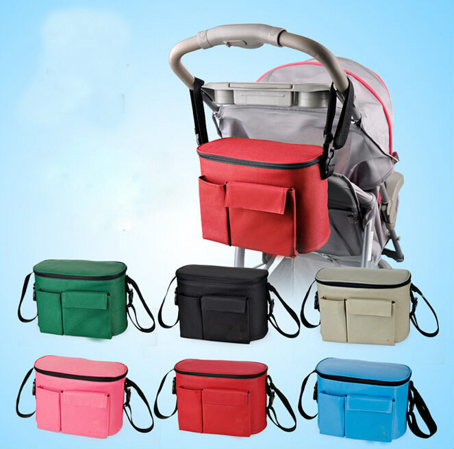 pram baby Mother Nappy Messenger accessories stroller hanging organizer Bag baby children storage bottle Diapers bag for mom(China (Mainland))