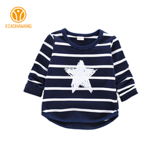 Buy New Kids T-Shirts Striped Cotton Boys T Shirt Long Sleeve Children Clothes O Neck Girls T-Shirt Star Girls Boys Clothing for $8.73 in AliExpress store