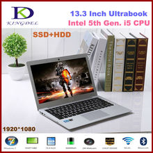 Kingdel Latest Laptop Noterbook Computer 13.3″ Dual Core i5 CPU, 4GB RAM 128GB SSD+1TB HDD,1080P, WIFI, Bluetooth, 6600mah