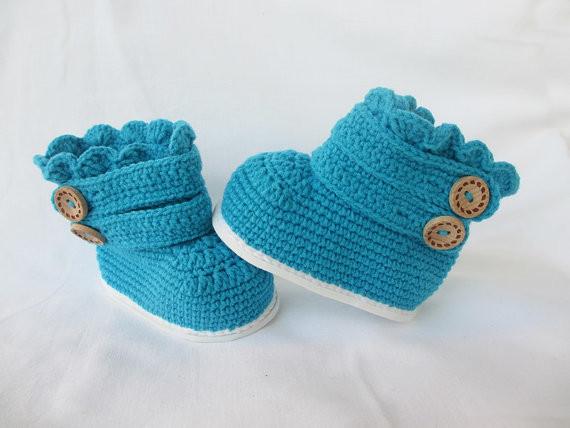 Niño botas de ganchillo, niño zapatilla botines, niño botas clásicas(China (Mainland))