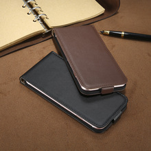 New ! Retro 100% Genuine Leather Case for iPhone 4 4S 5S 5 SE 6 7 Luxury Vertical Magnetic Flip Phone Bag Cover for iphone 4S 5S(China (Mainland))