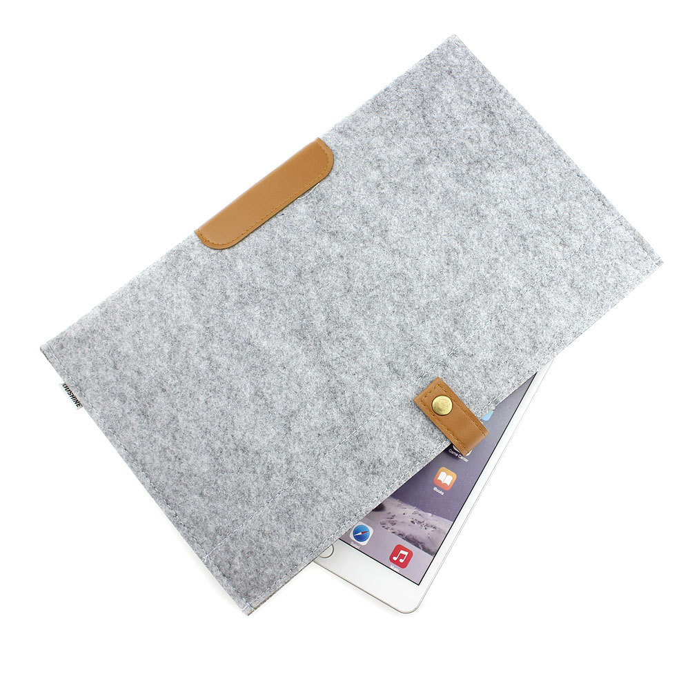 """*Clearance* Soft Woolen Felt Notebook Bag Envelope Laptop Sleeve Case Cover For Macbook Air / Pro 13"""" 13.3""""(China (Mainland))"""