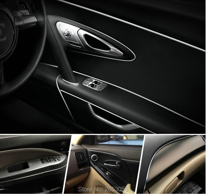 5M Car interior decorative chromium plating decoration sequins for Fiat Panda Stilo Punto Doblo Grande Bravo 500 Ducato Minibus(China (Mainland))