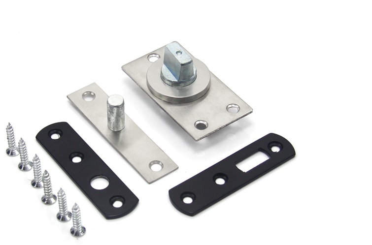 360 Degrees Top Bottom Mount Pivot Hinge Hinges Woodworking 100KG(China (Mainland))