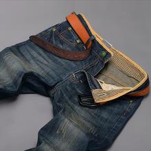 men fashion's new a*mani New fashion men fashion's jeans denim trousers ripped jeans biker thickening Slim pants men fashion's l