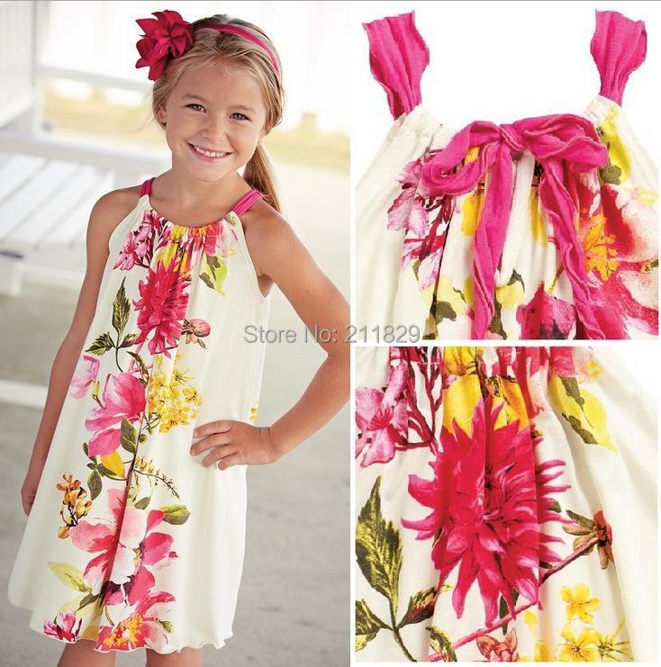 Kids Boho Clothes Wholesale Wholesale Girls Print Floral