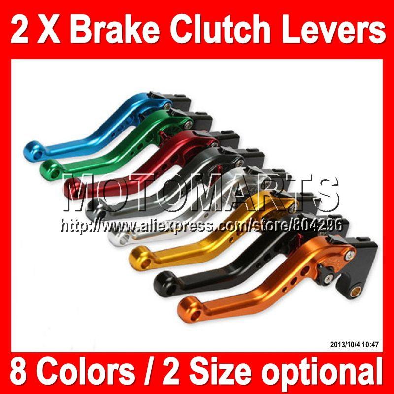 8 colors 2X Brake Clutch Levers For KAWASAKI NINJA ZX-10R 11-12 ZX10R ZX 10R 10 R 11 12 2011 2012 2011-2012 100%NEW CNC