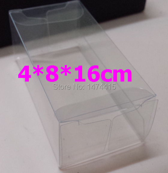 4*8*16 cm Plastic PVC Box Candy plastic box toy gift packaging box Tea Packaging Plastic Box,Free shipping(China (Mainland))