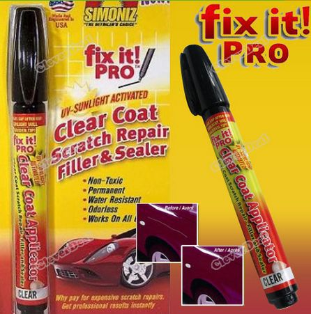 Simoniz Fix It Pro Pen Clear As Seen On TV 130pcs of 1lot(China (Mainland))