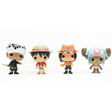 Buy Chanycore Funko pop Mini One Piece Anime Luffy Chopper Ace Law Vinyl PVC Collection Action Figure Model PVC Kids Toys box for $7.99 in AliExpress store