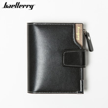 Buy Baellerry Short men Wallets Genuine Leather+PU male hasp Purse Card Holder Wallet Men soft Zipper Wallet Coin bag Clutch for $5.70 in AliExpress store