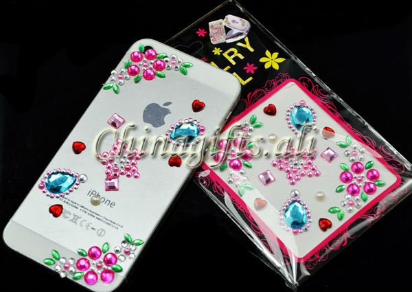 Стразы для мобильных телефонов 5 /mobile Phone, Psp, Ipod, nds/st018 держатель для мобильных телефонов 4 4s 5 5s ihtc gps psp ipod fedb4b04