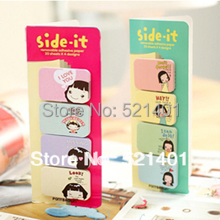 Sticky small notes n times stickers korea stationery scratchpad cartoon<br><br>Aliexpress
