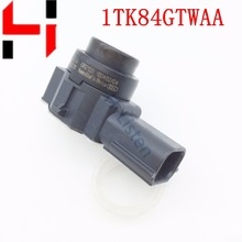 Buy , 4pcs100% work original part 1TK84GTWAA OE# 0263023720 PDC Parking Aid Bumper Object Sensor Radar Reverse Assist for $36.50 in AliExpress store