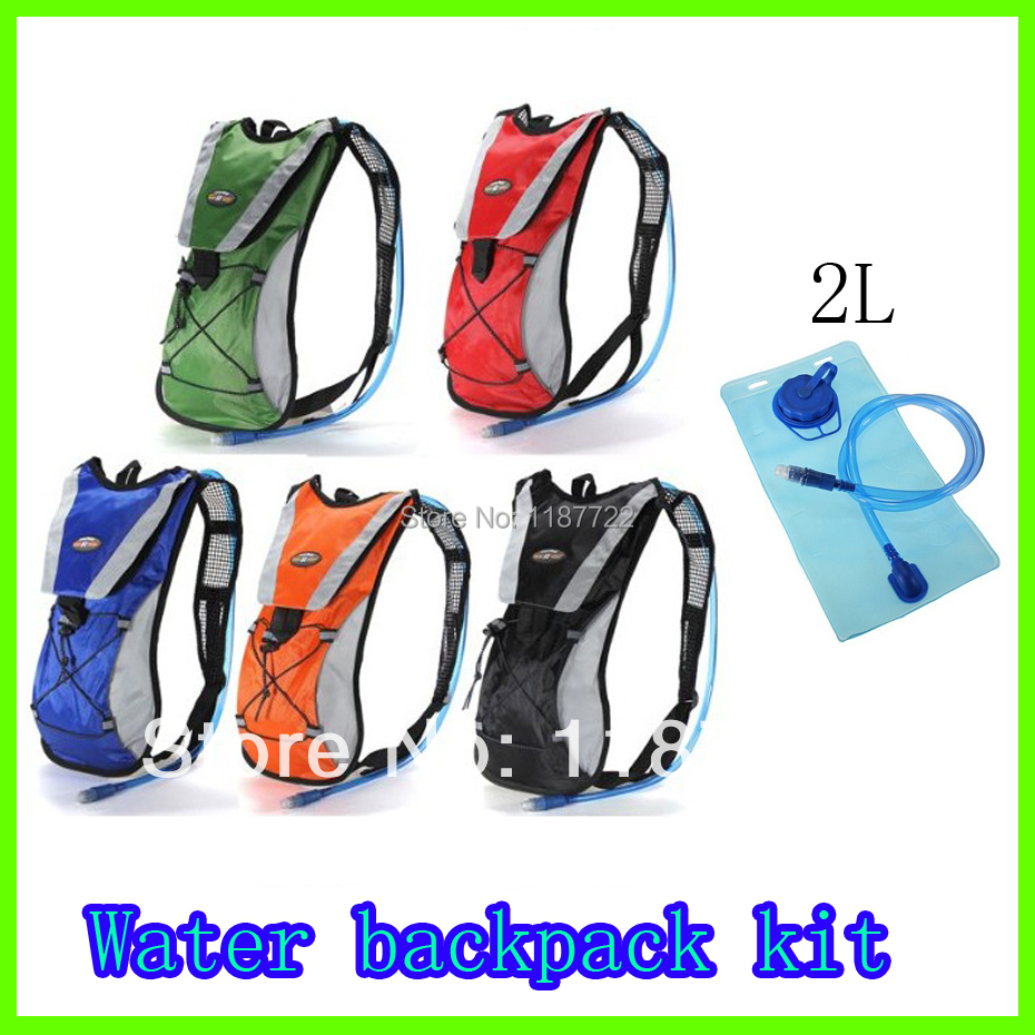 Hydration Pack Water Rucksack Backpack Bladder Bag Cycling Bicycle Bike/Hiking Climbing Pouch + 2L Hydration Bladder Set(China (Mainland))