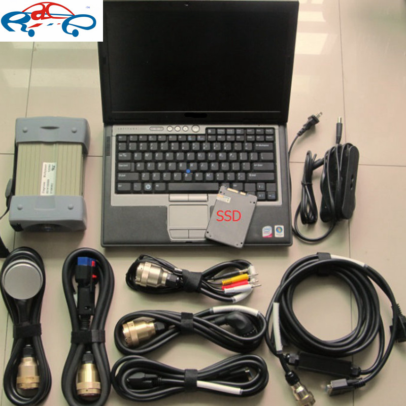 top quality mb star c3 with laptop D630 installed mb star diagnosis c3 software 2014.12 in ssd ready to work for mb vehicles(China (Mainland))