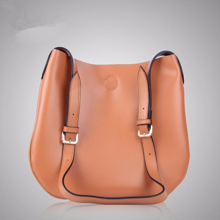 ซื้อ 2016สวยแข็งผู้หญิงกระเป๋าถือสุภาพสตรีหนังแท้Cowhideซิปกระเป๋าพนังกระเป๋าสะพายMessenger OLสำนักงานถุง