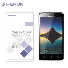 0.3mm Tempered Glass for Lenovo S660 Arc round Ultra thin anti crush transparent Protecter with Retail Package