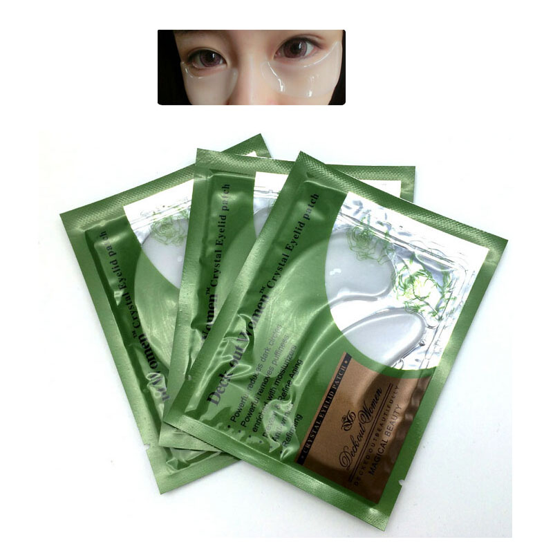 5Pairs Eye Masks Anti-Puffiness Dark Circle Eyelid Patch Beauty Mask Moisturizing Eye Mask Eyes Skin Care Makeup Tools Patches(China (Mainland))