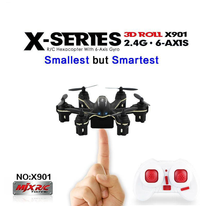 MJX 2.4G mini quadcopter x901 RC helicopter 6-axis hexa copter quadcopter drone Remote Control Helicopte(China (Mainland))