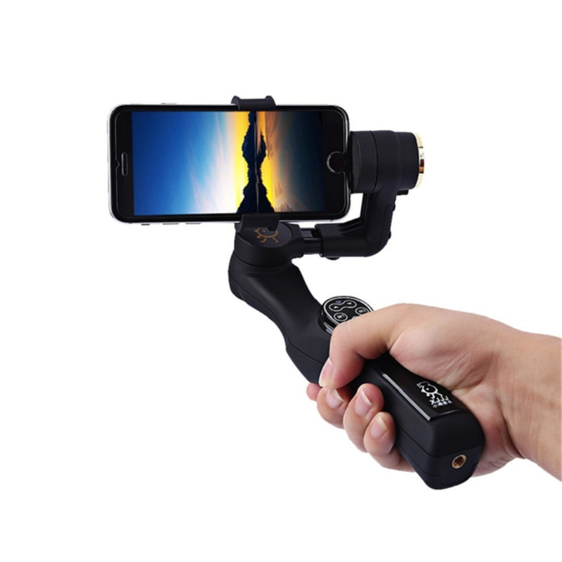 Best Deal XJJJ JJ-1 2 Axle Handheld Brushless Camera Gimbal Hand Gimbal Stabilizer for iPhone 7 Inch Mobile Smart Phone(China (Mainland))