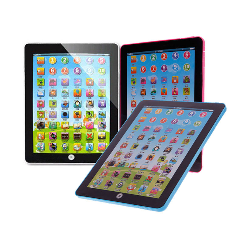 Kids Educational Computer Tablet Chinese English Learning Study Machine Toy YMP #53642(China (Mainland))