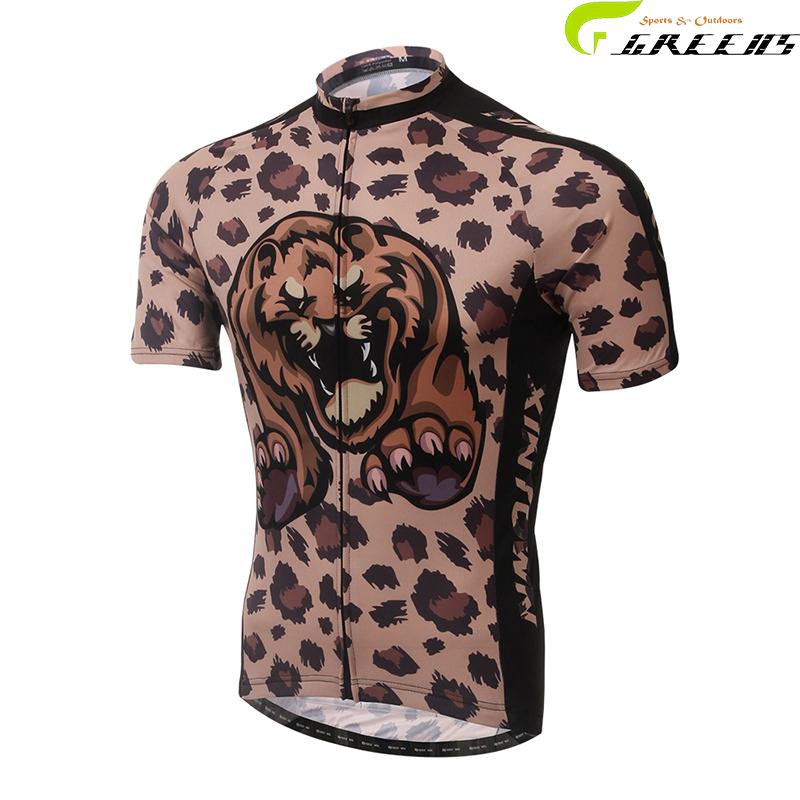 Men's Summer Short Sleeve Cycling Jersey Off Road City MTB Bike Bicycle Shirt Sportswear/ Cycling Clothing/ropa ciclismo hombre(China (Mainland))