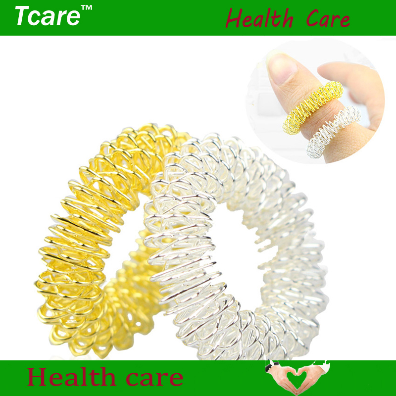 Tcare 3Pcs/Lot Hot Sale Finger Massage Ring Acupuncture Ring Health Care Body Massage Body Finger Health Care(China (Mainland))