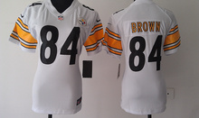 100% Stitiched,high quality,Pittsburgh Steelers Antonio Brown for mens women and kids(China (Mainland))
