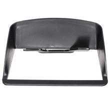 Brand New 7 inch Portable Universal Anti Glare Screen Sun Shield Visor Hood For 7 inch Car GPS Navigation Best Price(China (Mainland))